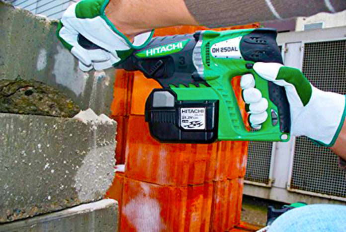Tassellatore a batteria Hitachi