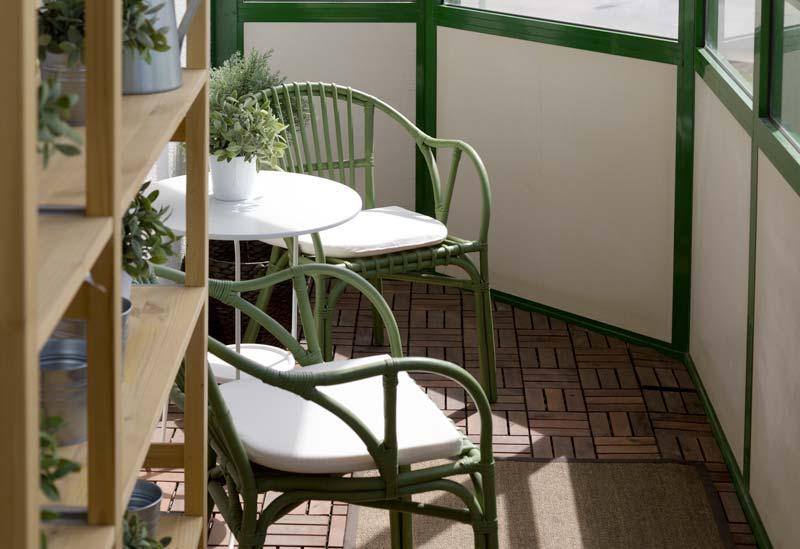 Tavolino per il balcone