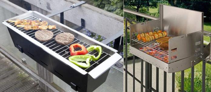 Barbecue da balcone
