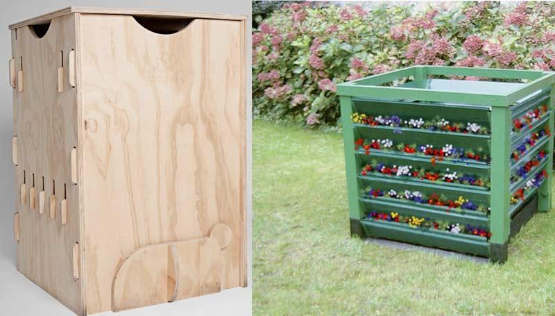 Miglior compostiera in legno