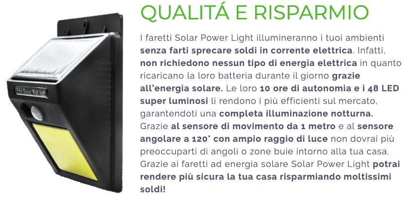 Opinioni su Solar Power Light