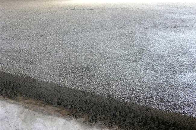 come fare un massetto in cemento