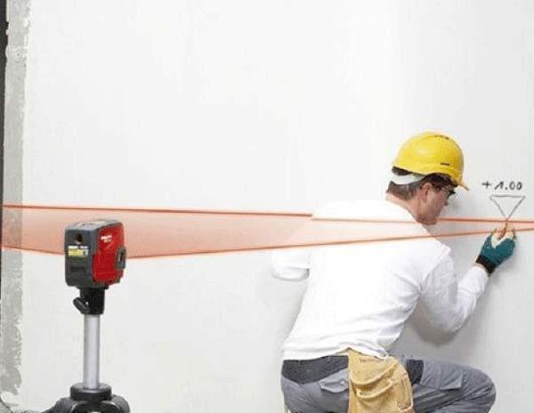 Funzioni delle livelle laser