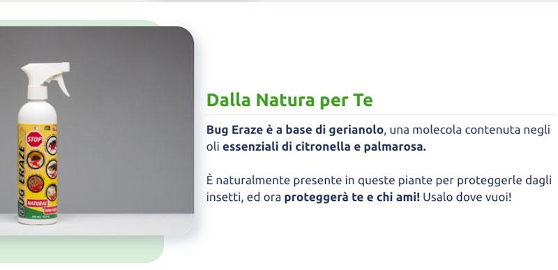 come funziona Bug Erase