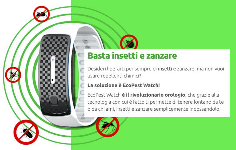 Come funziona Ecopest Watch