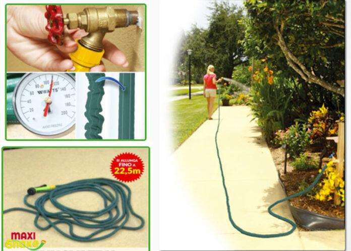 Maxi Snake tubo da giardino