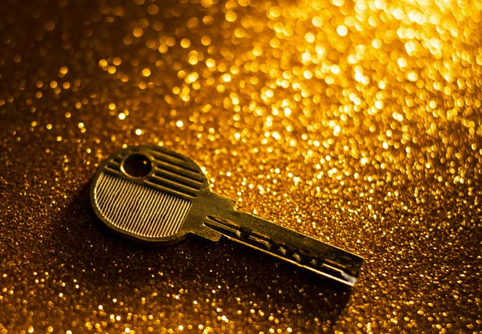 chiave per porta blindata