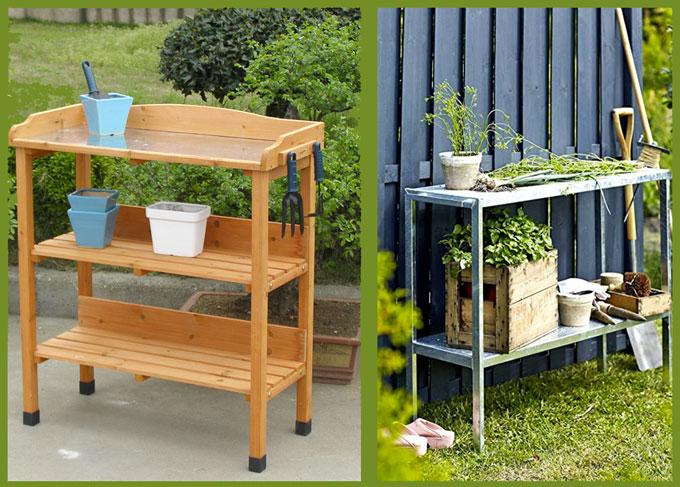 miglior tavolo da giardinaggio